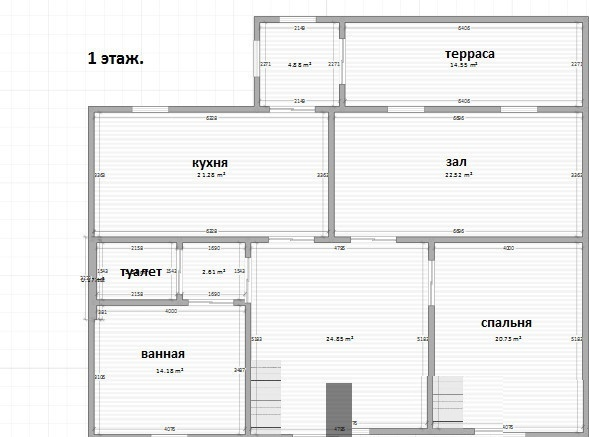 Дом 410 кв.м на участке 7.78 сот